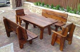 Best Wood Patio Furniture Wooden Patio Chairs Plans rallysportsco