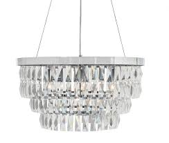 marquis drum crystal chandelier chrome finish