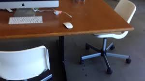 ikea modern swivel chair white home office new height adjule