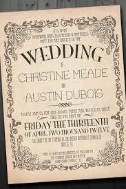Vintage Wedding Invitation Vintage Wedding Invites Vintage Wedding Invites With An Elegant