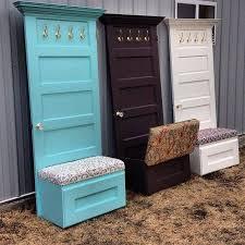 old door home ideas doors mud rooms and house with diy coat rack bench plans