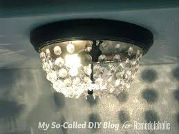 edison chandelier knock off update knockoff pottery barn
