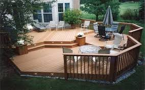 Unique Deck Design Ideas Small Backyard Deck Ideas Cool With Picture Of Designs For