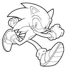 Sonic The Hedgehog Coloring Pages Hedgehog Coloring Pages Metal