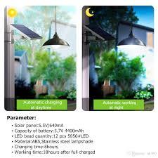 Großhandel Kronleuchter Solar Licht Mit Fernbedienung Retro Lampenschirm Lampe Solar Panel Lampe 98ft Cord Outdoor Solar Licht Für Garten Cafe Von