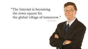 Bill Gates Internet Quotes Wallpaper 00240 - Baltana
