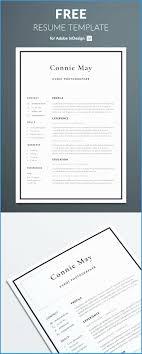 Minimalist Resume Template Free Download Unique Simple Resume