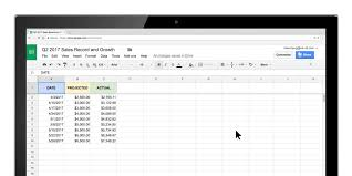 Google Sheets Adds New Chart Tools On The Web And Ios