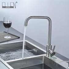 Stainless Steel Faucets Kitchen Online Buy Wholesale Stainless Steel Kitchen Faucet From China