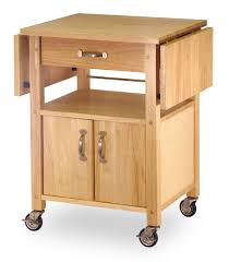 Amazon.com - Winsome Wood Drop-Leaf Kitchen Cart - Bar \u0026 Serving Carts