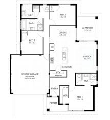 literarywondrous 3 bedroom floor plans new building plan gallery for gt story house bedrooms 2 baths