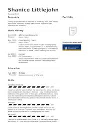 Afterschool Counselor Resume samples