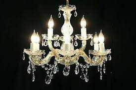 maria theresa chandelier assembly 13 light instructions sold 9 candle vintage crystal harp gallery home improvement