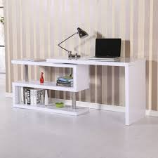 high office desk. Contemporary High Executive Office Desk White High Gloss Computer PC Table Home Corner Study  Unit For High Office Desk