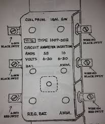 g503 military vehicle message forums • view topic zeph s 42 as one can see i installed the red wire that goes to the ammeter to the lower terminal on the filterette i then matched the red wire that runs through the