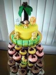 Lupitau0027s Bakery  BABY SHOWER GALLERY 1Baby Shower Safari Cakes