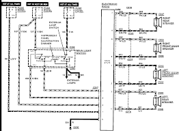 1992 ford f150 radio wiring diagram vehiclepad ford f150 radio 92 tempo gl radio wiring diagram ford forums mustang forum