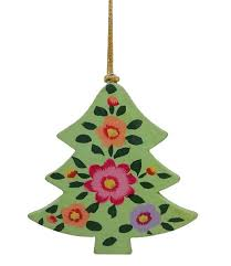 paper mache christmas tree by