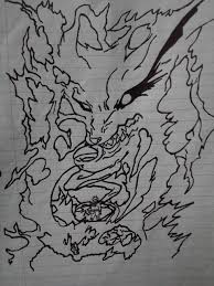 after weeks of searching i finally found my first drawing of naruto i hand drew when i was in 8th grade from my first manga book i ever baught in the fight
