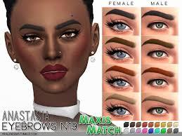 sims 4 eyebrows snootysims