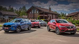 Сравниваем <b>Haval F7</b>, Kia Sportage, Geely Atlas и Renault Arkana ...