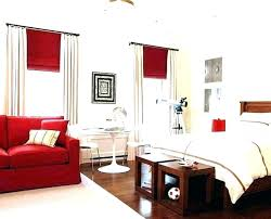 Scenic Red And White Bedroom Walls Black Design Ideas Decorating ...