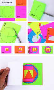 book cover making activity math book art my shape book shape activities for kids of book