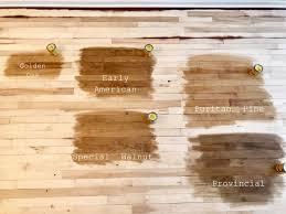 Minwax Stains On Sanded Birch Hardwood Floors Hardwood