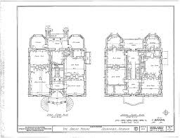 OwensThomas House  OwensThomas House  LOC Sm  Historic Design Historic Homes Floor Plans