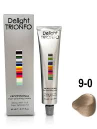 <b>Крем</b>-<b>краска DELIGHT</b> TRIONFO для окрашивания волос 9-0 ...