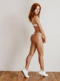 Redhead in a thong