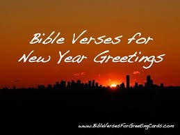 Happy New Year Biblical Quotes