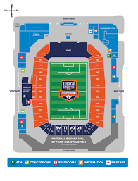 Ford Stadium Seating Chart Stadium Information Frisco Bowl
