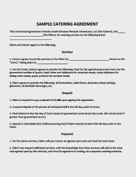 A catering contract is an agreement or form signed between two parties i.e, a customer and a caterer. 10 Catering Service Agreement Template Pdf Free Premium Templates