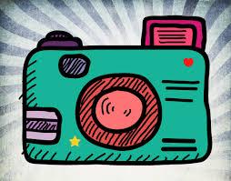 Resultado de imagen de càmara de fotos dibujo