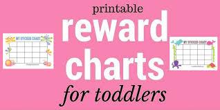 Printable Reward Charts My Bored Toddler