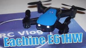 <b>Eachine E61HW</b>. <b>Квадрокоптер</b> для новичка. Banggood - YouTube