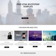 Stunning Free Html Bootstrap Templates 2019