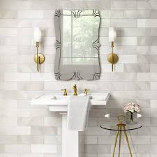 Double Sconce Bathroom Lighting Extraordinary Bathroom Lighting At The Home Depot