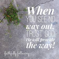 Trust In God Quotes Adorable Trust God Quote
