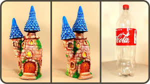 Diy Fairy Castle Lamp Using Coke Plastic Bottle
