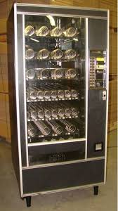 Automatic Products Vending Machine Manual Amazing Automated Products API AP Model 48 Snack Glass Front Vending