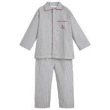 Baby Night Dress Design Turquaz Boys Striped Cotton Pyjamas Boys Night Dress