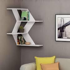 Floating Shelf Design Plans Wave Corner Shelf Corner Shelf Design Wall Shelves Design
