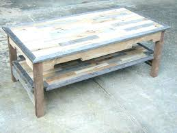coffee table with sliding top storage bayside furnishings