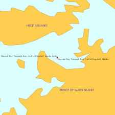 Gulf Tide Chart Nossuk Bay Tonowek Bay Gulf Of Esquibel Alaska Sub Tide