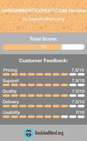 assignmentexpert com review score does it offer high  assignmentexpert com review