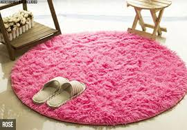 round indoor gy rug six colours available