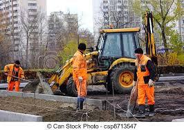 Road Workers The Asphalt