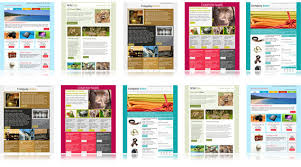 Free Newsletter Layouts 80 Free Mailchimp Templates To Kick Start Your Email